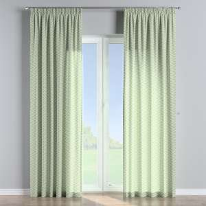 Pencil pleat curtains 130 x 260 cm (51 x 102 inch) in collection Comic Book & Geo Prints, fabric: 141-63