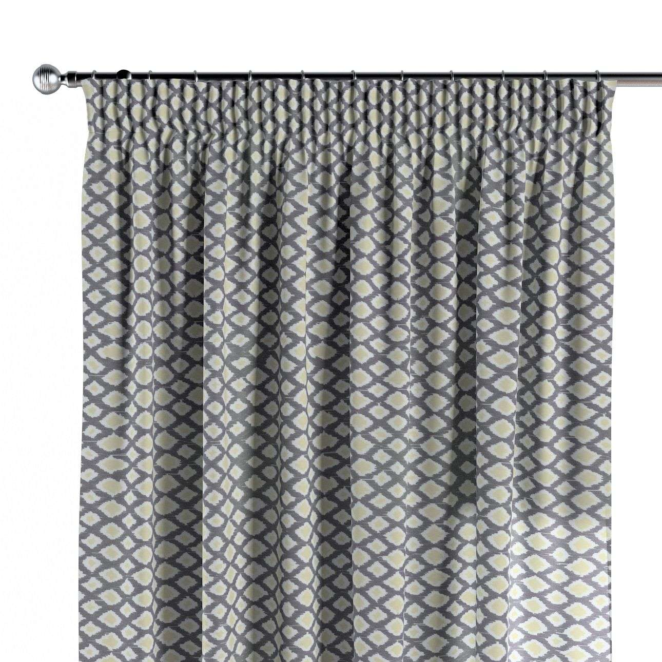 Pencil pleat curtains 130 x 260 cm (51 x 102 inch) in collection Comic Book & Geo Prints, fabric: 141-21