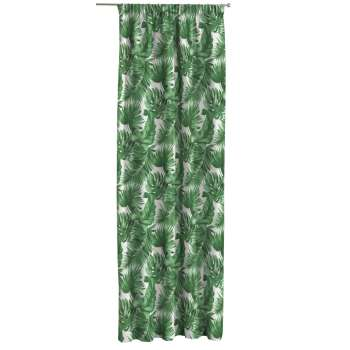 Pencil pleat curtains in collection Urban Jungle, fabric: 141-71