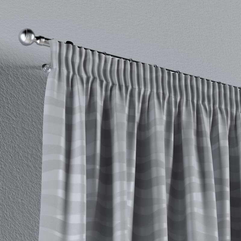 Vorhang mit Kräuselband von der Kollektion Damasco, Stoff: 141-72