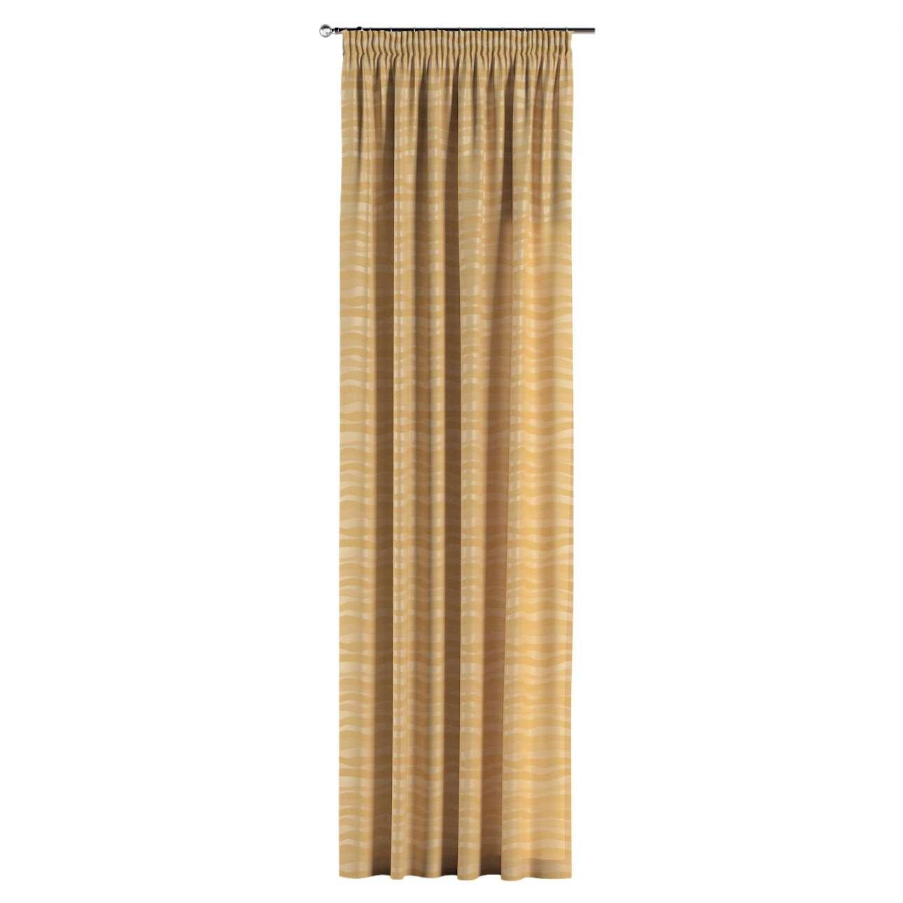 Záves na riasiacej páske 130 x 260 cm V kolekcii Damasco, tkanina: 141-74