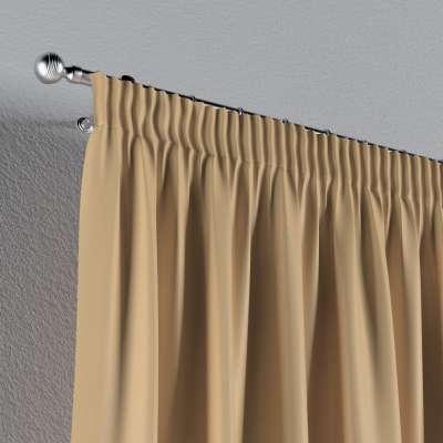 Vorhang mit Kräuselband von der Kollektion Damasco, Stoff: 141-75