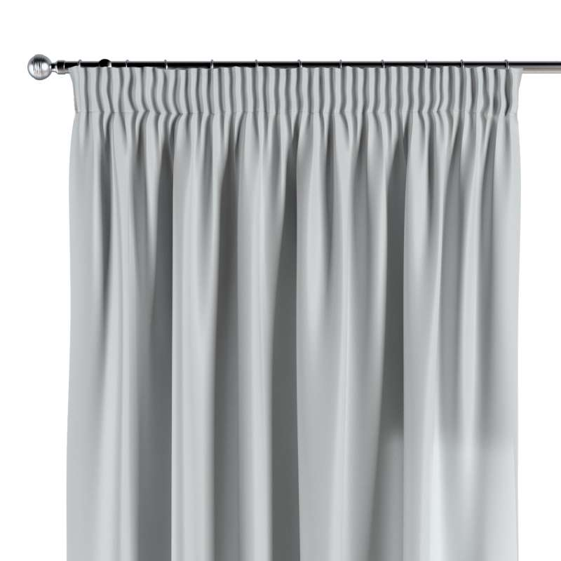 Pencil pleat curtains in collection Damasco, fabric: 141-77