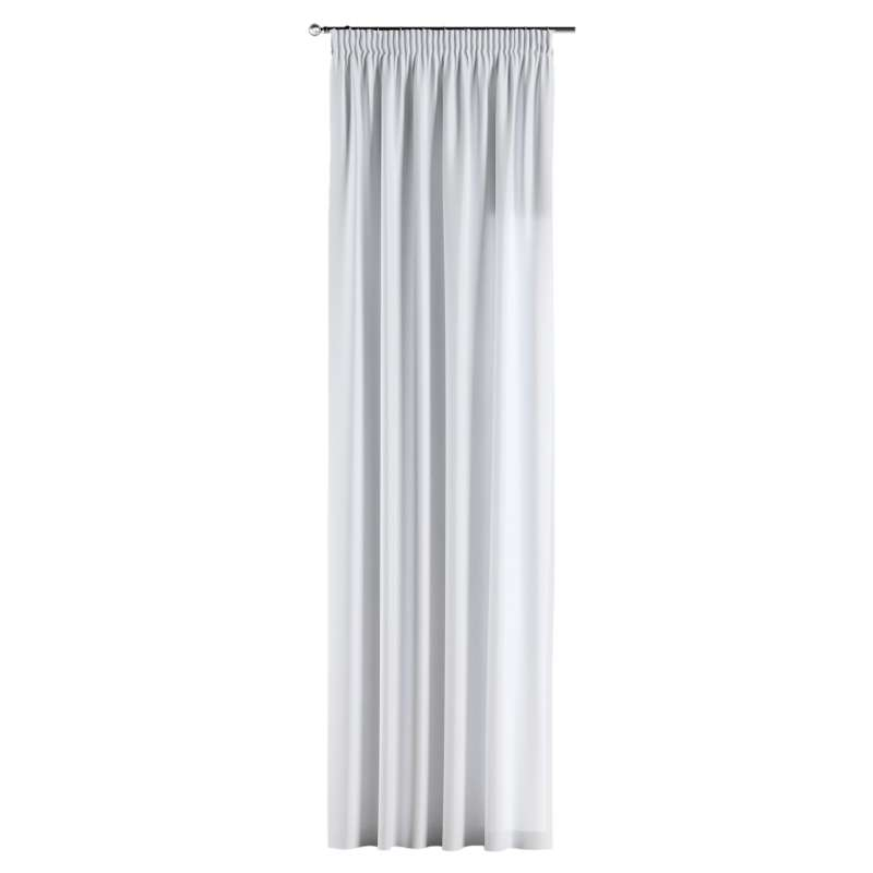 Pencil pleat curtain in collection Damasco, fabric: 141-78