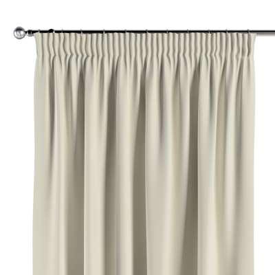 Vorhang mit Kräuselband 704-10 altweiß Kollektion Velvet