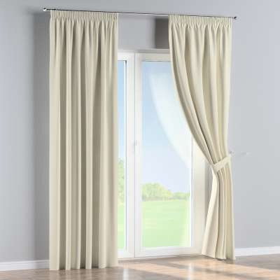 Pencil pleat curtains in collection Velvet, fabric: 704-10
