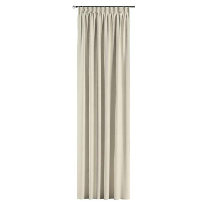 Gardin med rynkband 1 längd i kollektionen Velvet, Tyg: 704-10