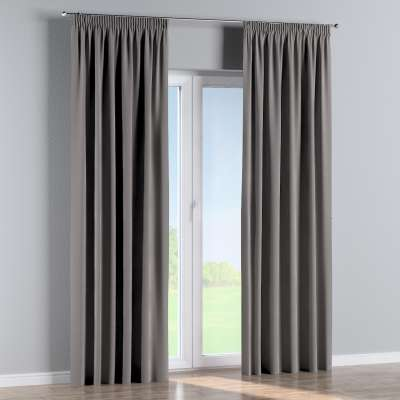 Pencil pleat curtains in collection Velvet, fabric: 704-11