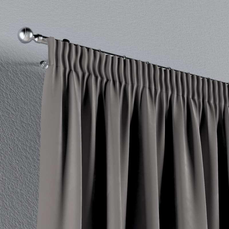 Vorhang mit Kräuselband von der Kollektion Velvet, Stoff: 704-11