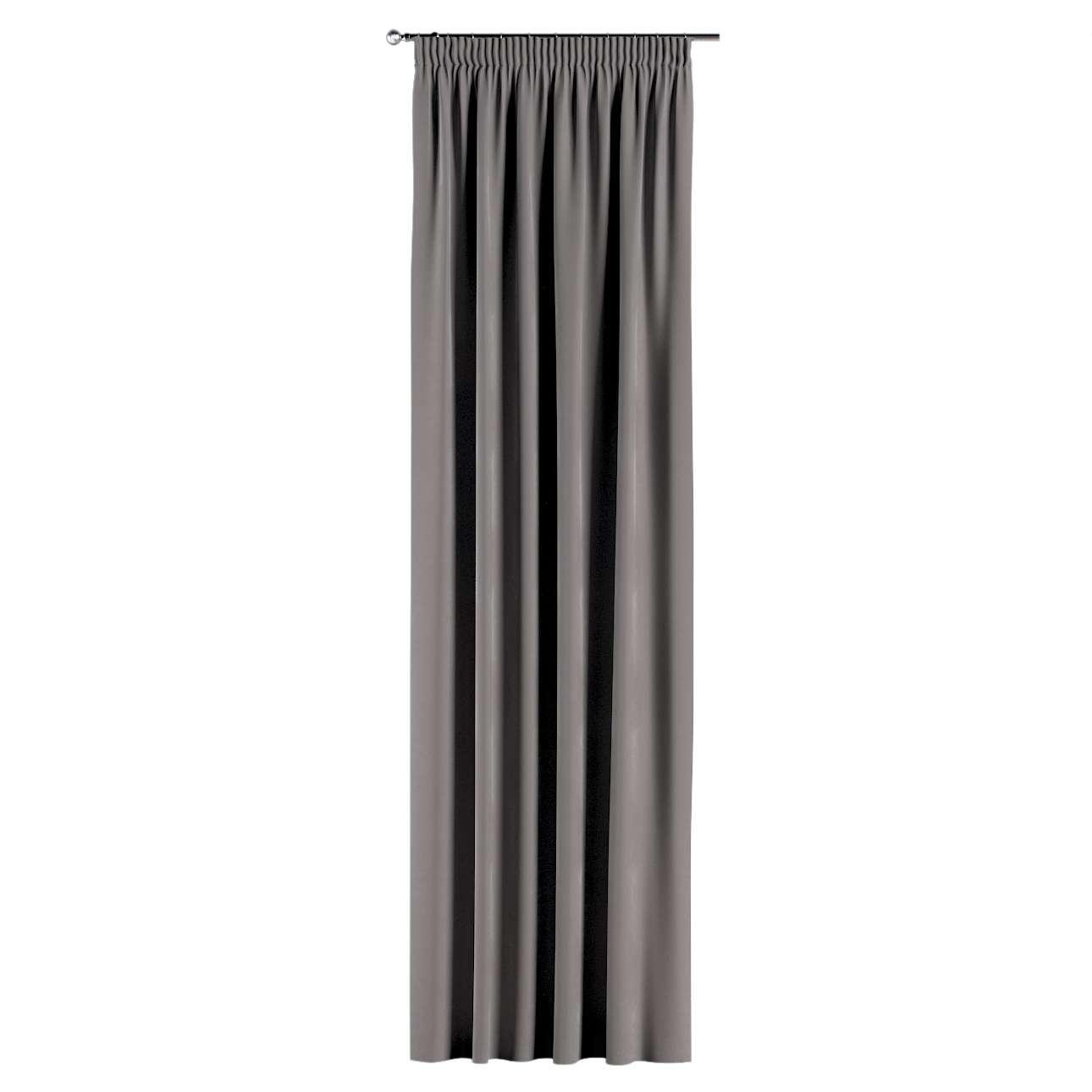 Zasłona na taśmie marszczącej 1 szt. 1szt 130x260 cm w kolekcji Velvet, tkanina: 704-11