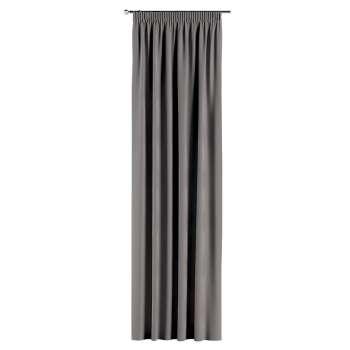 Gardin med rynkebånd 1 stk. 130 × 260 cm fra kolleksjonen Velvet, Stoffets bredde: 704-11