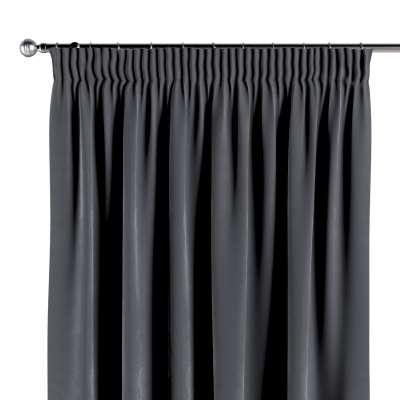 Vorhang mit Kräuselband von der Kollektion Velvet, Stoff: 704-12