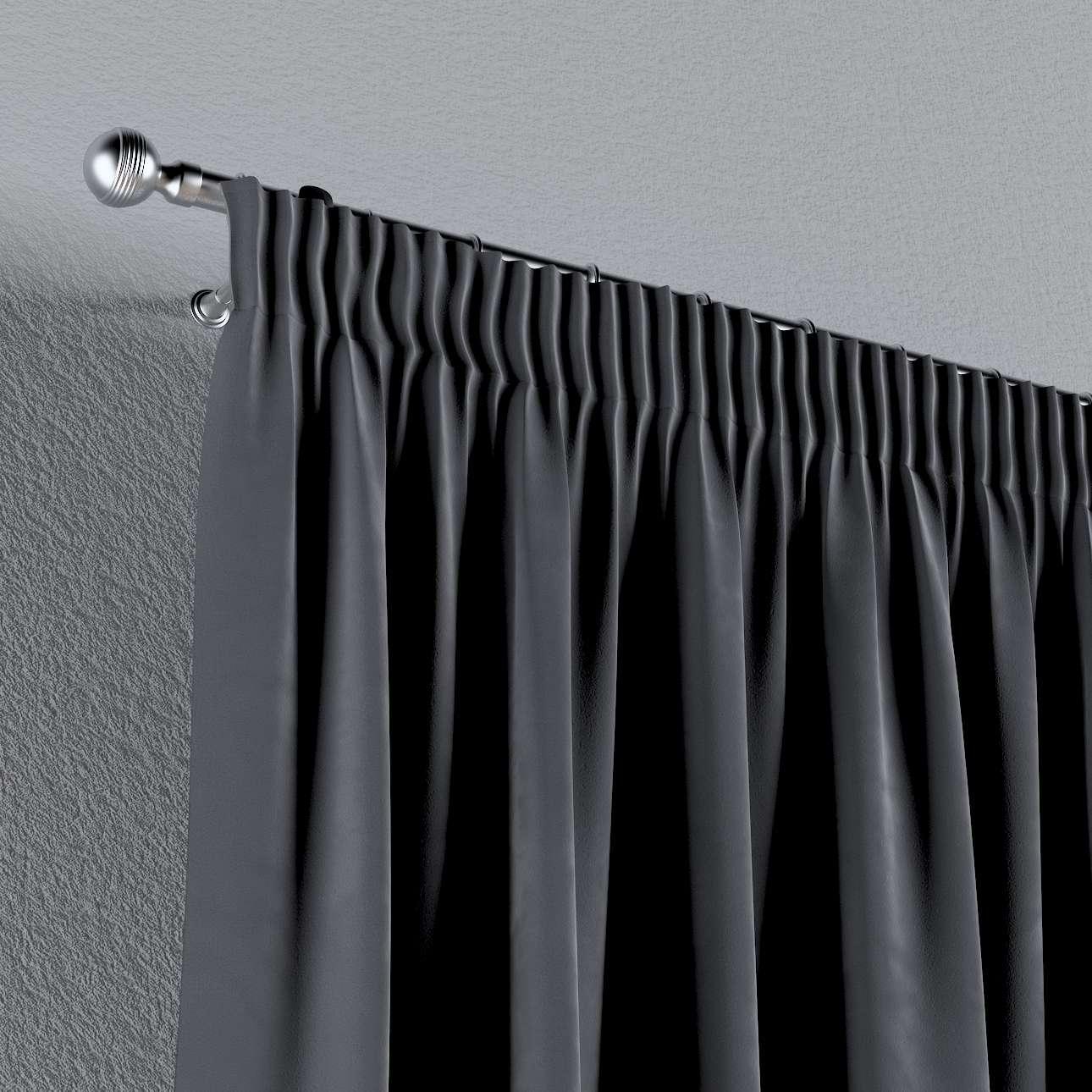 Záves na riasiacej páske 130 × 260 cm V kolekcii Velvet, tkanina: 704-12