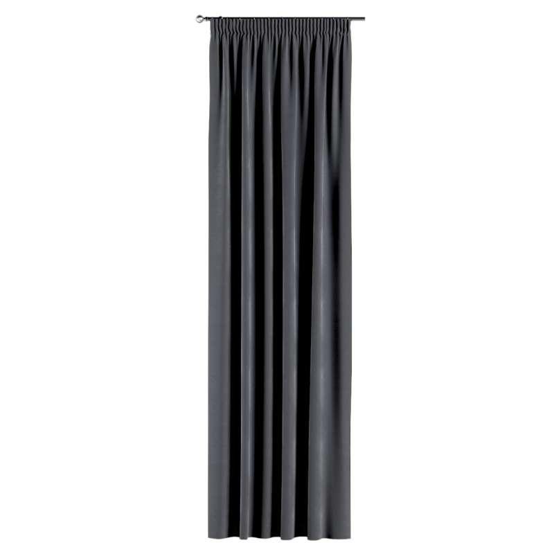Gardin med rynkebånd 1 stk. fra kollektionen Velvet, Stof: 704-12