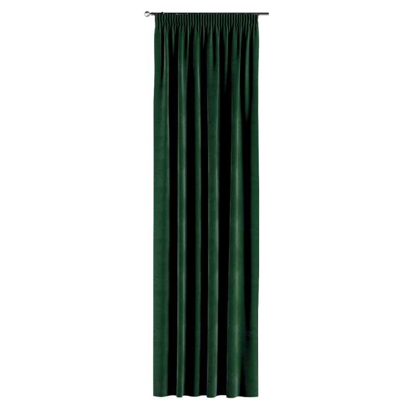 Záves na riasiacej páske V kolekcii Velvet, tkanina: 704-13