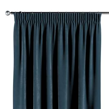 Pencil pleat curtains in collection Velvet, fabric: 704-16