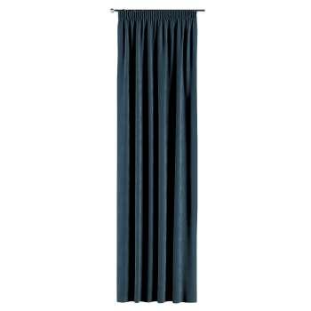 Gardin med rynkebånd 1 stk. 130 × 260 cm fra kolleksjonen Velvet, Stoffets bredde: 704-16