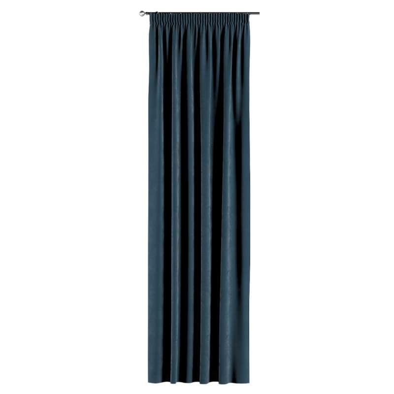 Záves na riasiacej páske V kolekcii Velvet, tkanina: 704-16