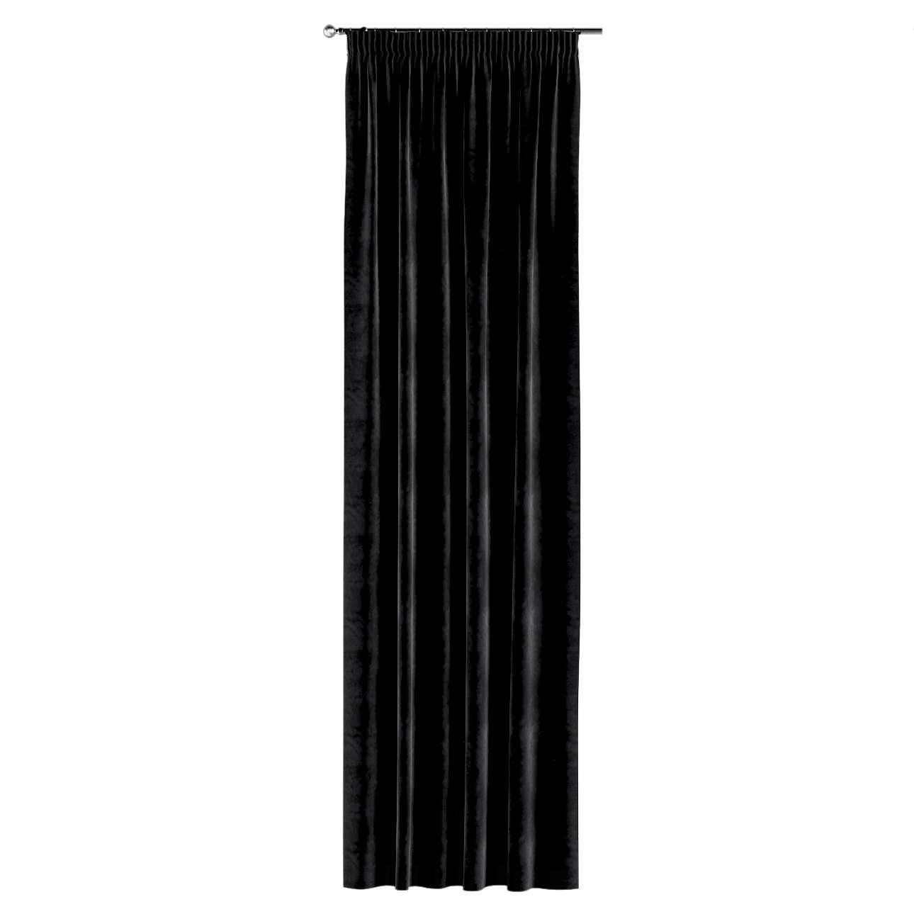 Gardin med rynkebånd 1 stk. fra kollektionen Velvet, Stof: 704-17