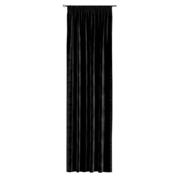 Gardin med rynkebånd 1 stk. 130 × 260 cm fra kolleksjonen Velvet, Stoffets bredde: 704-17