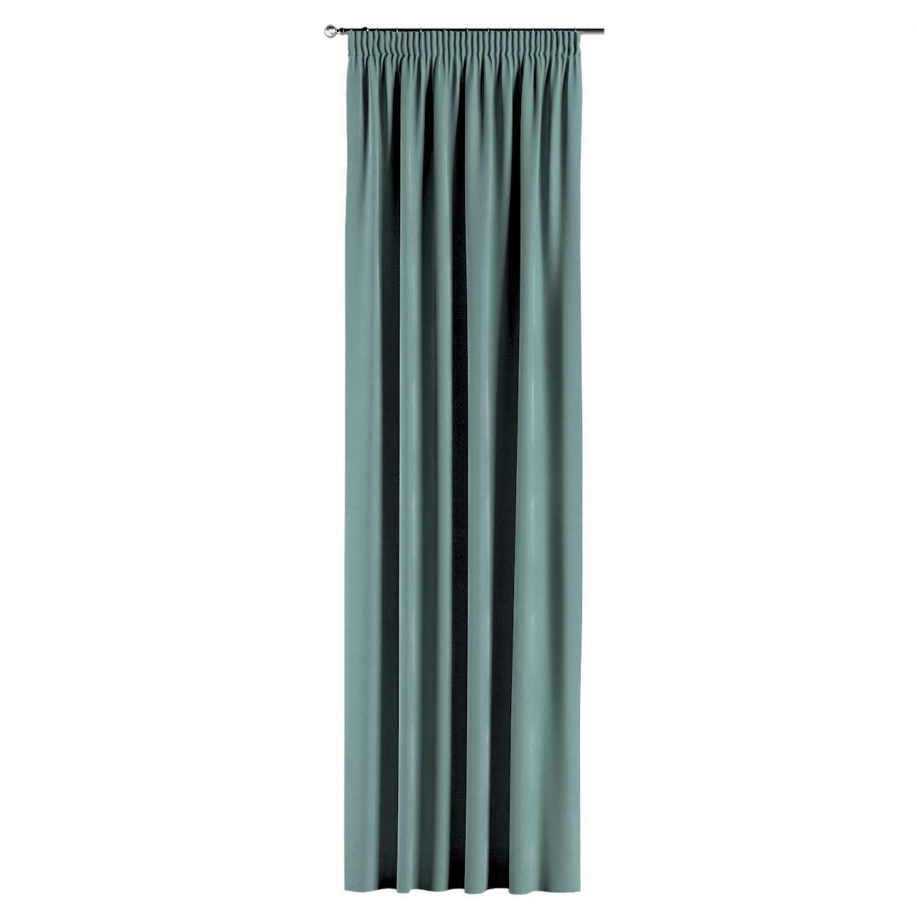 Záves na riasiacej páske V kolekcii Velvet, tkanina: 704-18