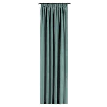 Gardin med rynkebånd 130 × 260 cm fra kollektionen Velvet, Stof: 704-18