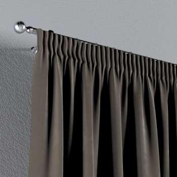 Gardin med rynkebånd 130 × 260 cm fra kollektionen Velvet, Stof: 704-19