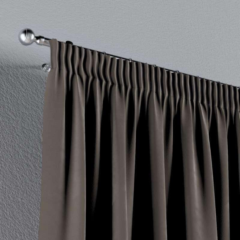 Gardin med rynkebånd 1 stk. fra kollektionen Velvet, Stof: 704-19