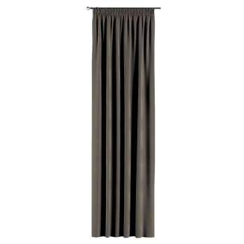 Pieštukinio klostavimo užuolaidos 130 × 260 cm (plotis × ilgis) kolekcijoje Velvet, audinys: 704-19