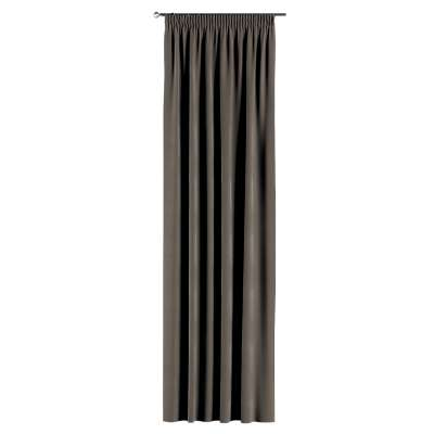 Záves na riasiacej páske V kolekcii Velvet, tkanina: 704-19