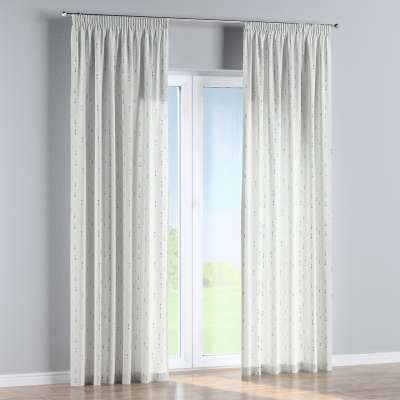 Pencil pleat curtains in collection Adventure, fabric: 141-82