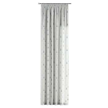 Gardin med rynkebånd 130 × 260 cm fra kollektionen Adventure, Stof: 141-84