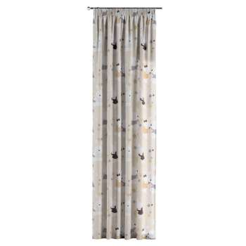 Gardin med rynkebånd 130 × 260 cm fra kollektionen Adventure, Stof: 141-85