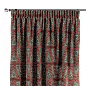 Pencil pleat curtains in collection Comics/Geometrical, fabric: 141-81