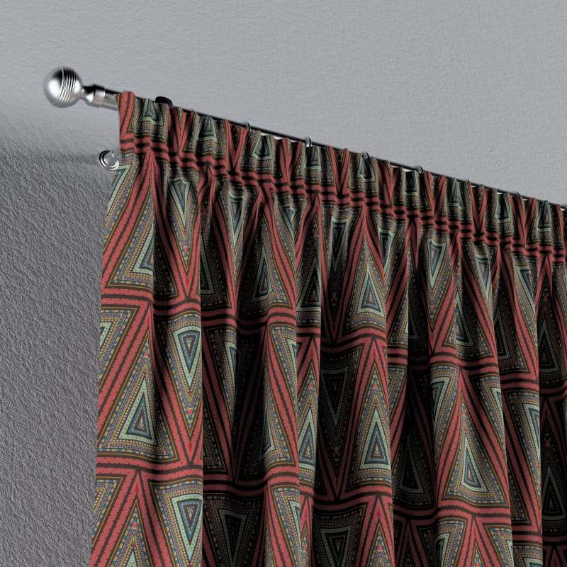 Pencil pleat curtain in collection SALE, fabric: 141-81