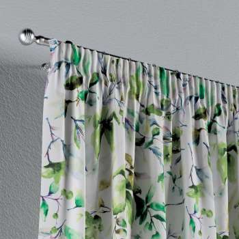 Pencil pleat curtains in collection Velvet, fabric: 704-20