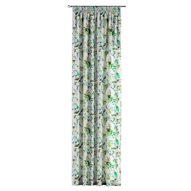 Vorhang mit Kräuselband von der Kollektion Velvet, Stoff: 704-20