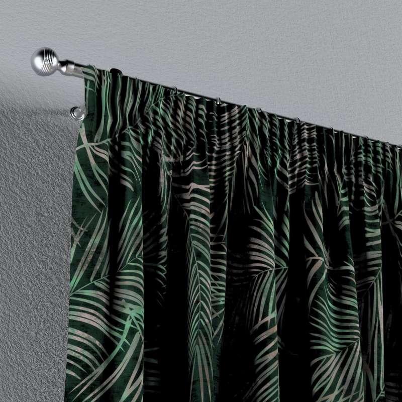 Függöny ráncolóval a kollekcióból Velvet  Lakástextil, Dekoranyag: 704-21