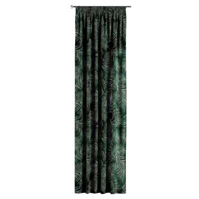 Zasłona na taśmie marszczącej 1 szt. w kolekcji Velvet, tkanina: 704-21