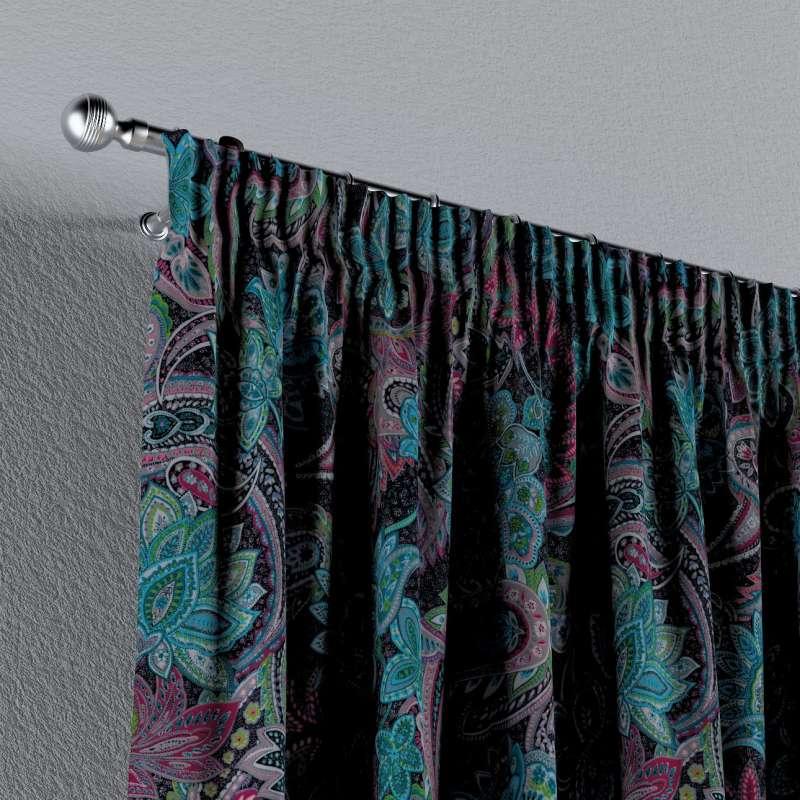 Záves na riasiacej páske V kolekcii Velvet, tkanina: 704-22