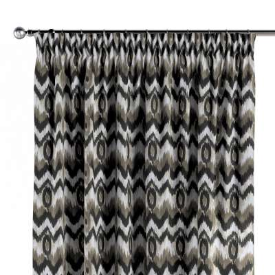 Pencil pleat curtains in collection Modern, fabric: 141-88