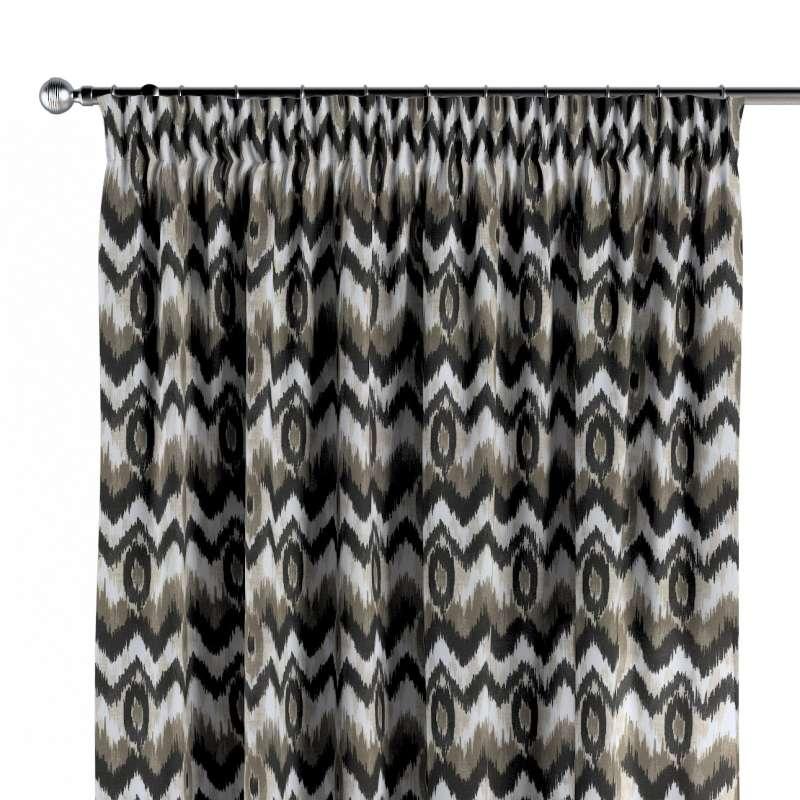 Zasłona na taśmie marszczącej 1 szt. w kolekcji Modern, tkanina: 141-88