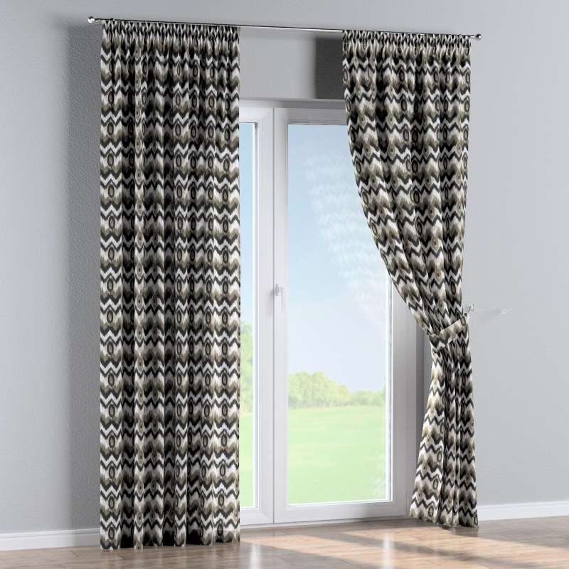 Pencil pleat curtain in collection Modern, fabric: 141-88
