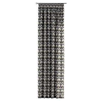Závěs s řasící páskou v kolekci Modern, látka: 141-88