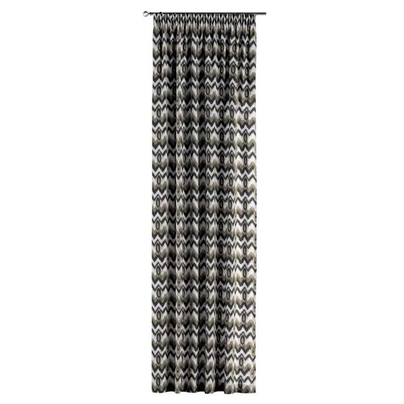 Vorhang mit Kräuselband von der Kollektion Modern, Stoff: 141-88