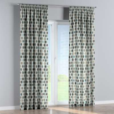 Pencil pleat curtains in collection Modern, fabric: 141-91