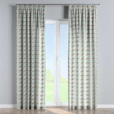 Pencil pleat curtains in collection Modern, fabric: 141-93