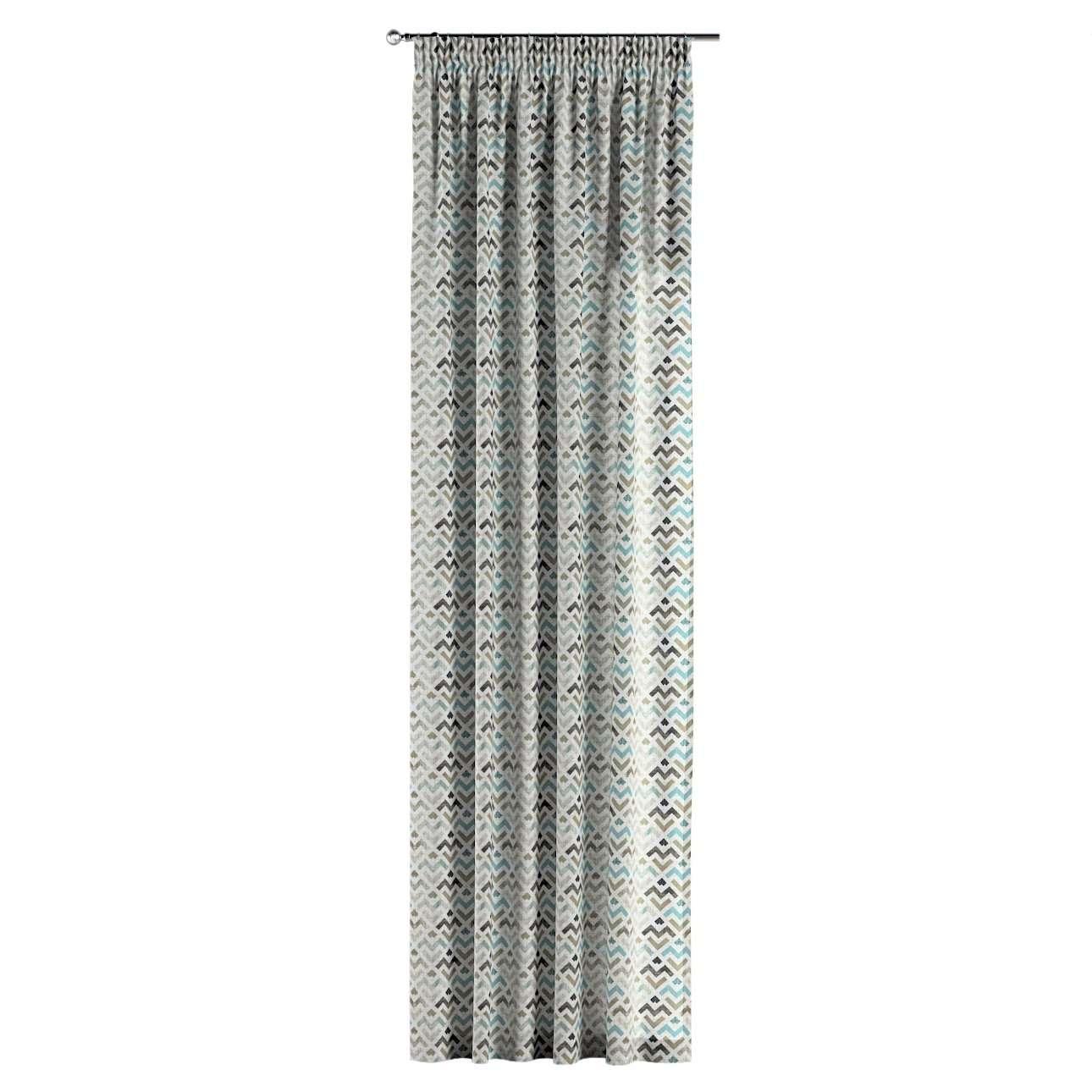 Vorhang mit Kräuselband von der Kollektion Modern, Stoff: 141-93
