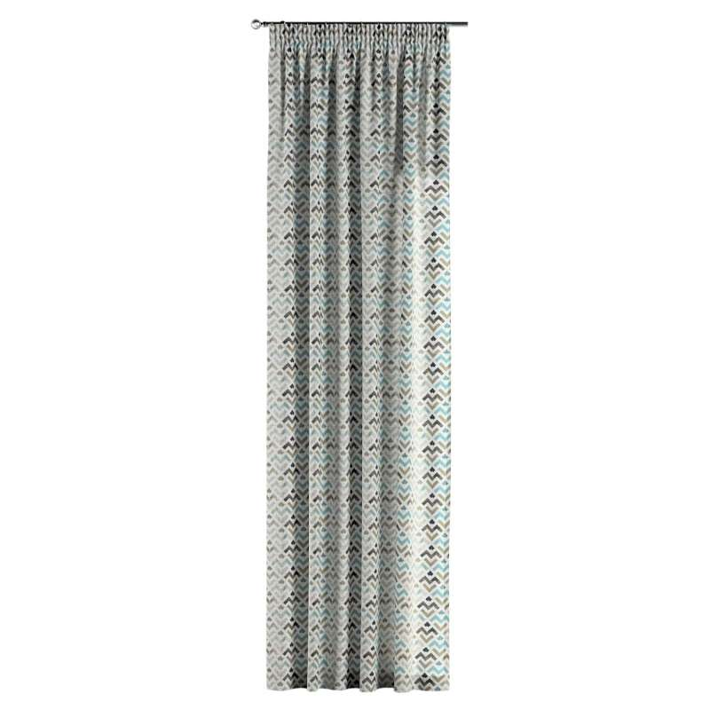 Pencil pleat curtain in collection Modern, fabric: 141-93