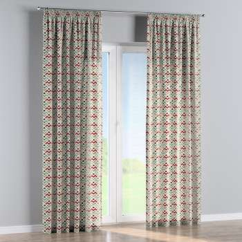 Pencil pleat curtains in collection Modern, fabric: 141-94